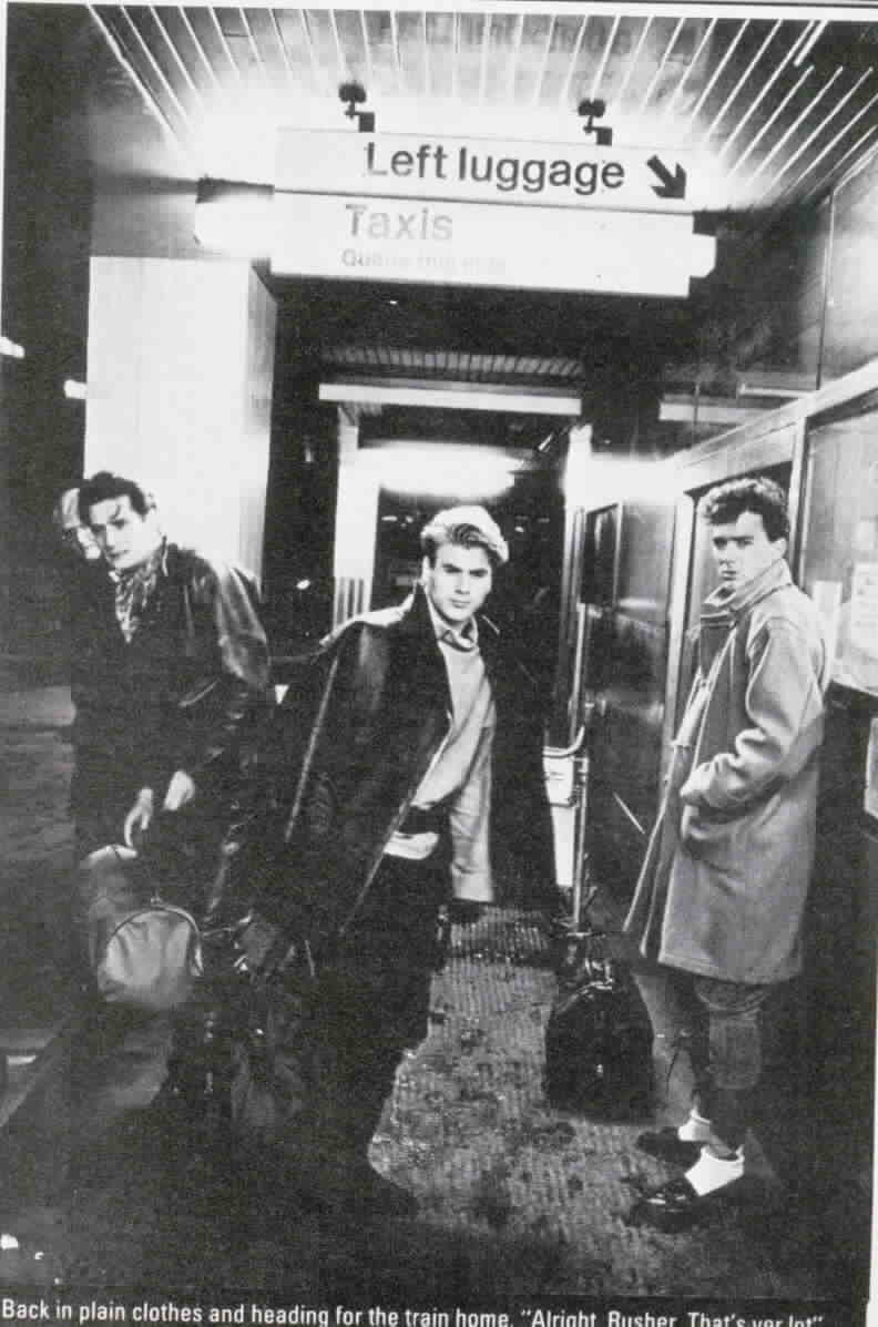 Spandau Ballet in a pose that could be from a Bogarde film